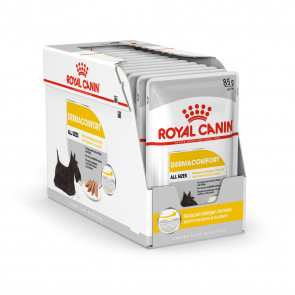 Royal Canin Dermacomfort Adult Wet Food Pouches - 12 x 85g