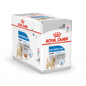 Royal Canin Mini Light Weight Care Adult Wet Food Pouches - 12 x 85g