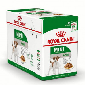 Royal Canin Mini Adult Wet Food Pouches -12X85g