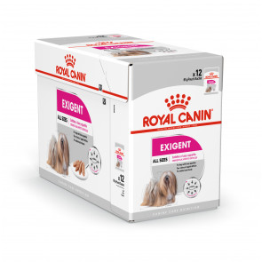 Royal Canin Mini Exigent Adult Wet Food Pouches -12 x 85g