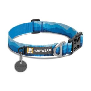 Ruffwear Hoopie Everday Dog Collar - Blue Mountains
