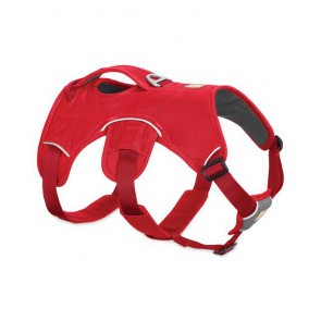 Ruffwear Web Master Dog Harness with Handle - Red Currant