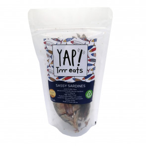 Yap! Treats Whole Dried South African Sardines Pet Treat -30 Fish