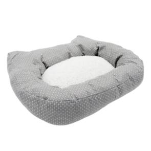 Rosewood Dotty Feline Plush Cat Bed