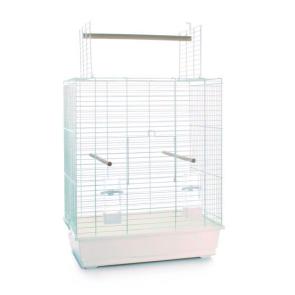 Beeztees Ara Open Bird Cage - White