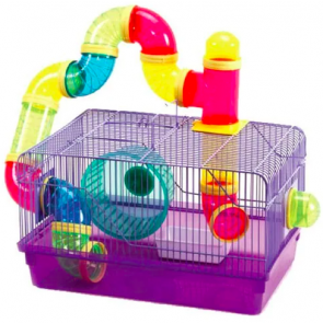 Marlton's Hamster Cage with Accessories