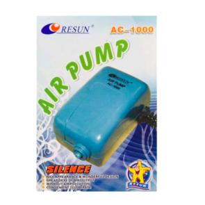 Resun Single Outlet Aquarium Air Pump - 210l/h