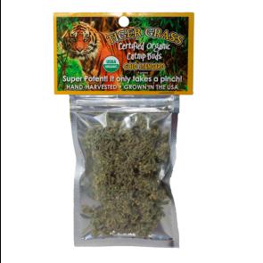Go Cat Tiger Grass Organic Catnip Buds - 28g