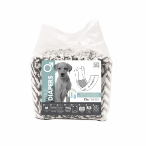 M-Pets Male Dog Diapers