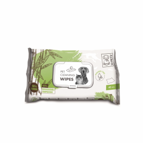 M-Pets Pet Bamboo Cleaning Wipes - 40 Piece