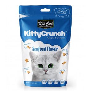 Kit Cat Seafood Kitty Crunch Treats - 60g
