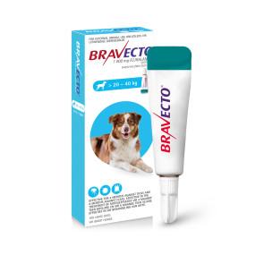 Bravecto Spot-On Large Dog 20-40kg Tick & Flea Treatment