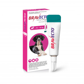 Bravecto Spot-On X-Large Dog 40-56kg Tick & Flea Treatment