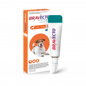 Bravecto Spot-On Small Dog 4.5-10kg Tick & Flea Treatment