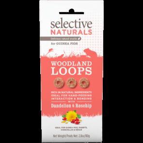 Science Selective Naturals Woodland Loops Guinea Pig Treats - 80g