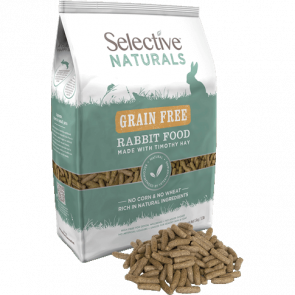 Selective Naturals Grain Free Rabbit Food - 1.5kg