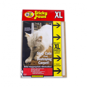 Sticky Paws XL Sheet Furniture Protector - 5 Pack