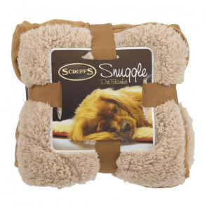 Scruffs Cosy Snuggle Pet Blanket - Tan