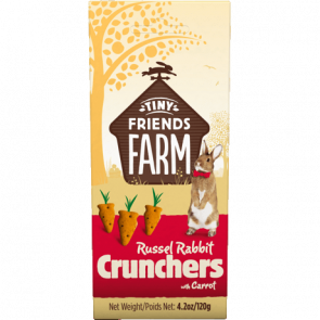Tiny Friends Farm Russel Rabbit Crunchers Rabbit Treats