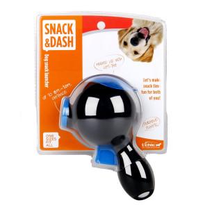 L'Chic Treat Launcher Dog Toy - Black