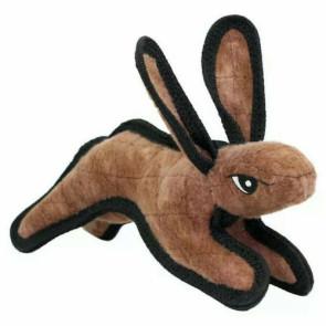 Tuffy Barnyard Rabbit Small Dog Plush Toy