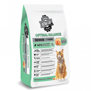 Ultra Cat Optimal Balance Senior Cat Food - 2kg
