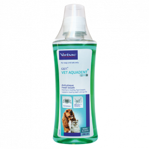 Virbac Aquadent Fresh Breath Water Additive for Pets - 250ml