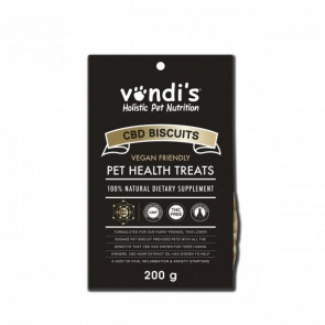 Vondi's CBD Dog Biscuits - 200g