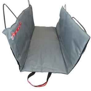Wagworld Dog Car Seat Hammock Double - Grey