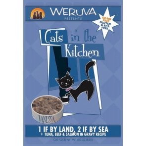 Weruva 1 If By Land, 2 If By Sea Cat Food Pouch