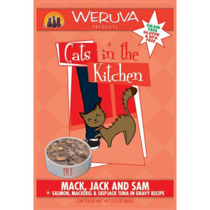 Weruva Mack, Jack & Sam Cat Food Pouch