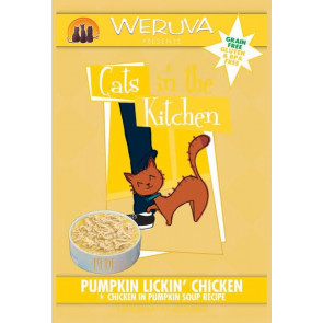 Weruva Pumpkin Lickin' Chicken Cat Food Pouch