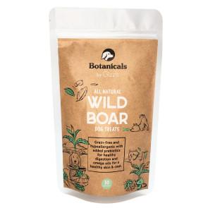 Gizzls Botanicals Grain-Free Natural Wild Boar Dog Treats - 30 Biscuits
