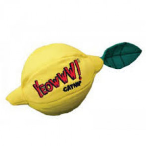 Yeowww! Sour Puss! Lemon Catnip Cat Toy